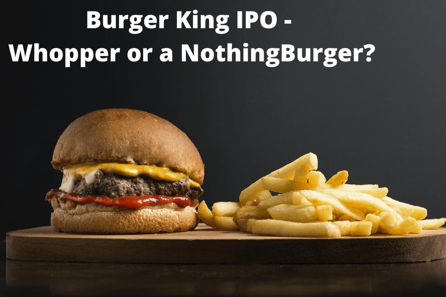 Burger King IPO