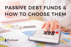 passive debt funds